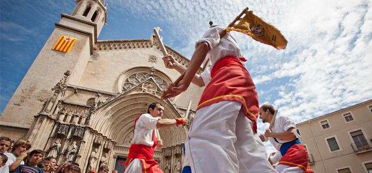 festa major vilafranca - ball de bastoners