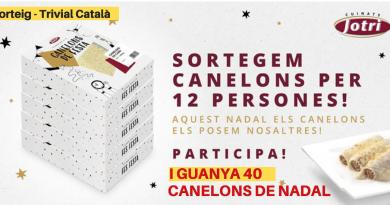 Canelons - Sorteig de Nadal - Cuinats Jotri