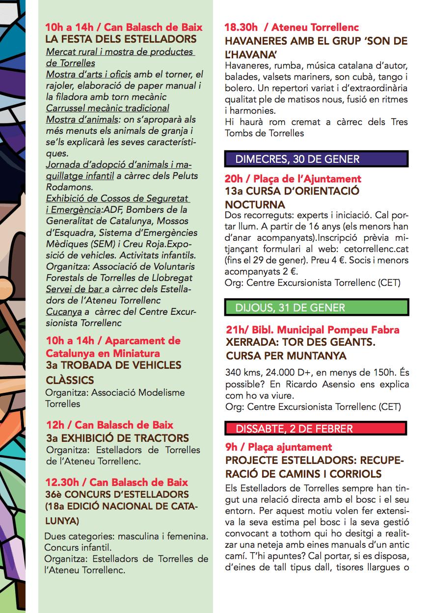 Festa Major de Sant Pau de Torrelles de Llobregat 2019 - Programa d'activitats 3