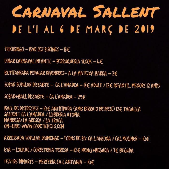 carnaval de sallent - 2019