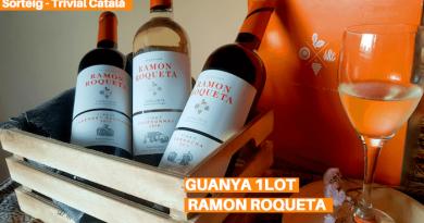 AQUEST MES GUANYA 1 FANTÀSTIC LOT DE VINS RAMON ROQUETA – SORTEIG TRIVIAL CATALÀ