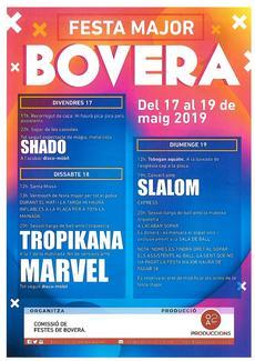 Festa Major de Bovera - Fires i Mercats - que fer avui