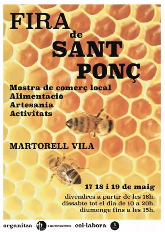Fira de sant Ponç - Martorell vila - que fer aquest cap de setmana