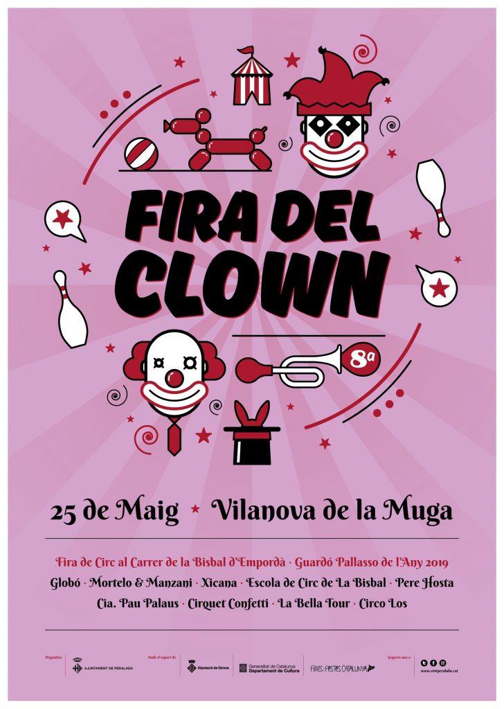 Fires i festes - fira del clown - vilanova de la muga - festes avui