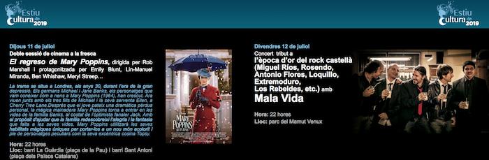 Cinema a la fresca - que fer a barcelona