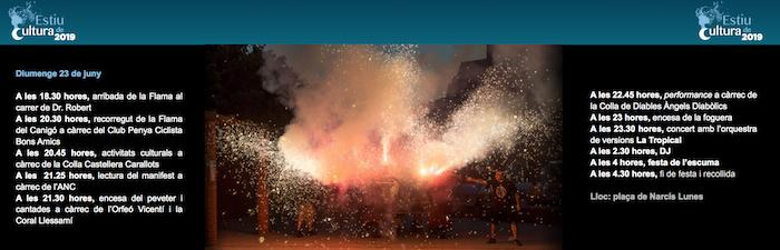 Que hacer en barcelona este fin de semana - sant vicenç dels horts -Diumenge 23 de juny -