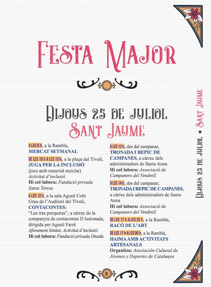 Festa Major del Vendrell- 1 - Festa Major