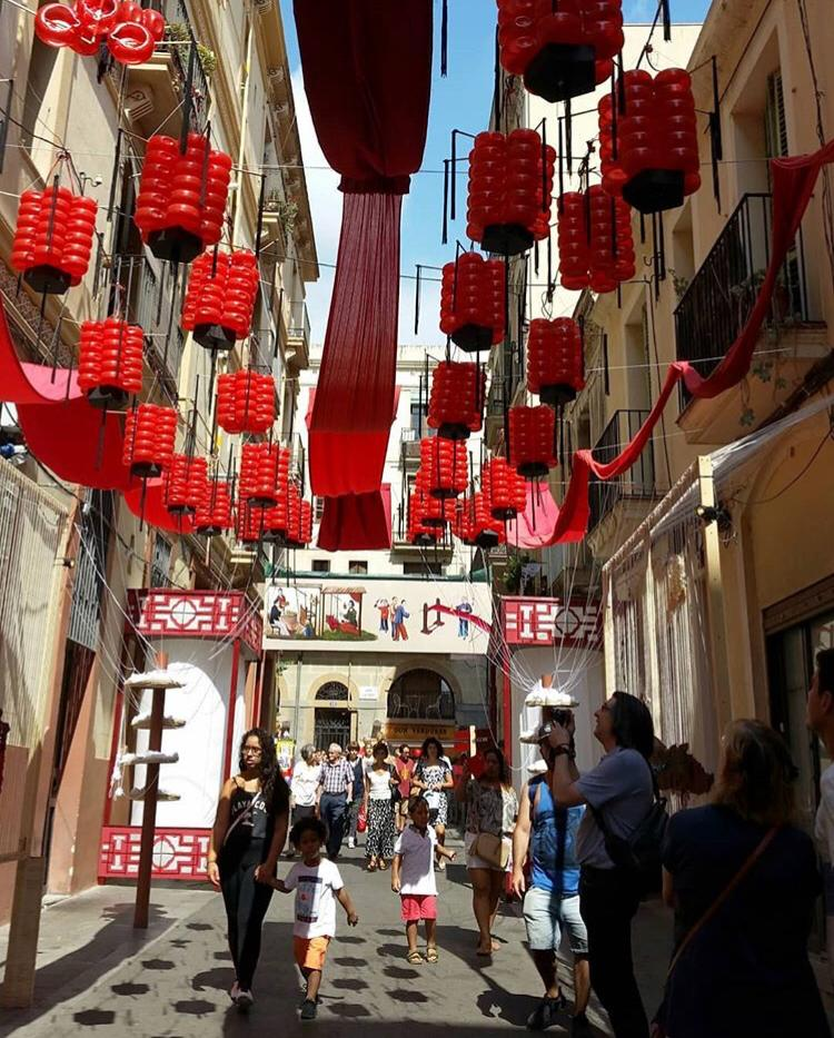 Carrers premiats Festa Major de Gràcia 2019 - Travessia de Sant Antoni - tercer premi