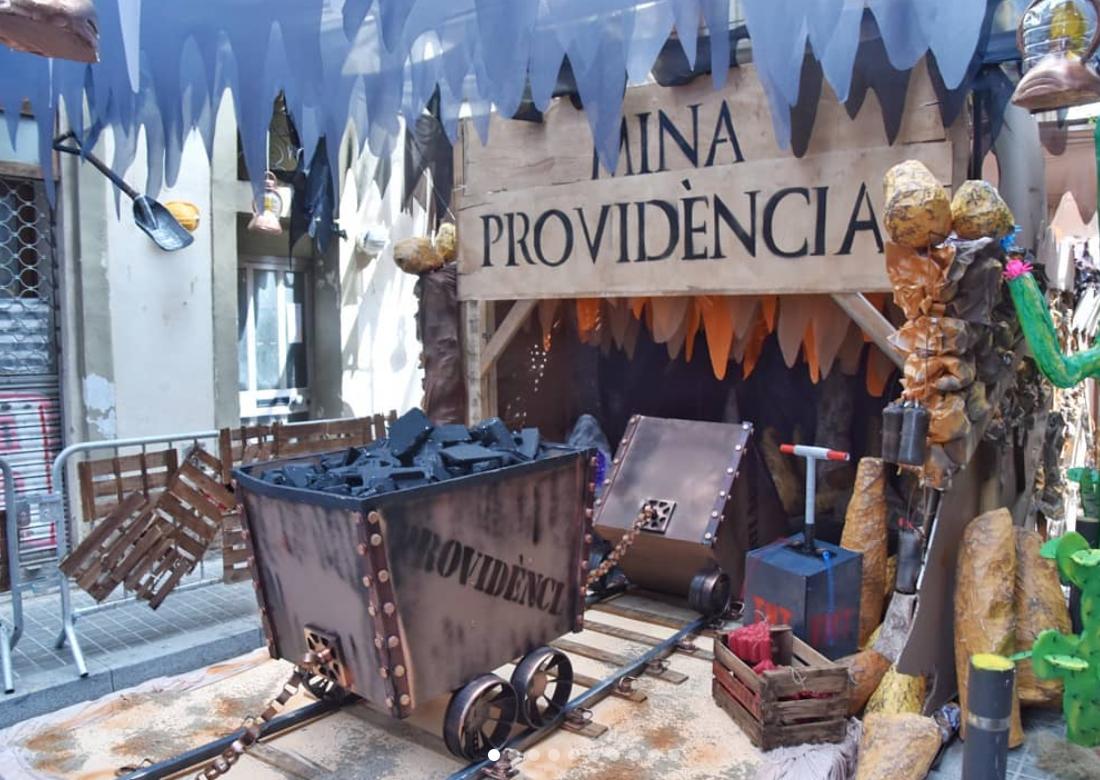 Festa Major de Gràcia 2019 -Carrer Providència Festes de Gràcia 2019 - Carrer Providència