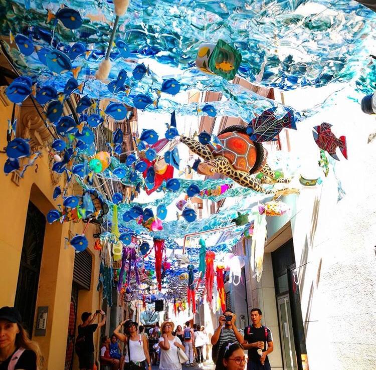 Carrer Puigmartí - Festes Majors de Gràcia 2019