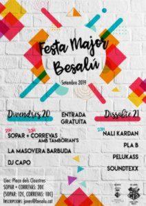 FESTA MAJOR - FESTA MAJOR BESALÚ - FESTES DE CATALUNYA