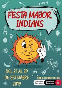FESTA MAJOR - FESTA MAJOR INDIANS - AGENDA BARCELONA