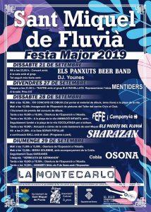 FESTA MAJOR - FESTA MAJOR SANT MIQUEL DE FLUVIÀ - FESTES CATALUNYA