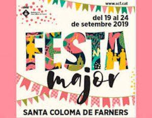 FIRES I FESTES - FESTA AJOR SANTA COLOMA DE FARNERS - FESTES MAJORS