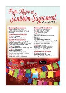 FIRES I FESTES - FESTA MAJOR DEL SANTISSIM SAGRAMENT CREIXELL - FESTES CATALUNYA