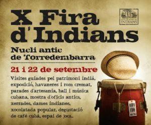 FIRES I FESTES - X FIRA INDIANS TORREDEMBARRA - AGENDA TARRAGONA