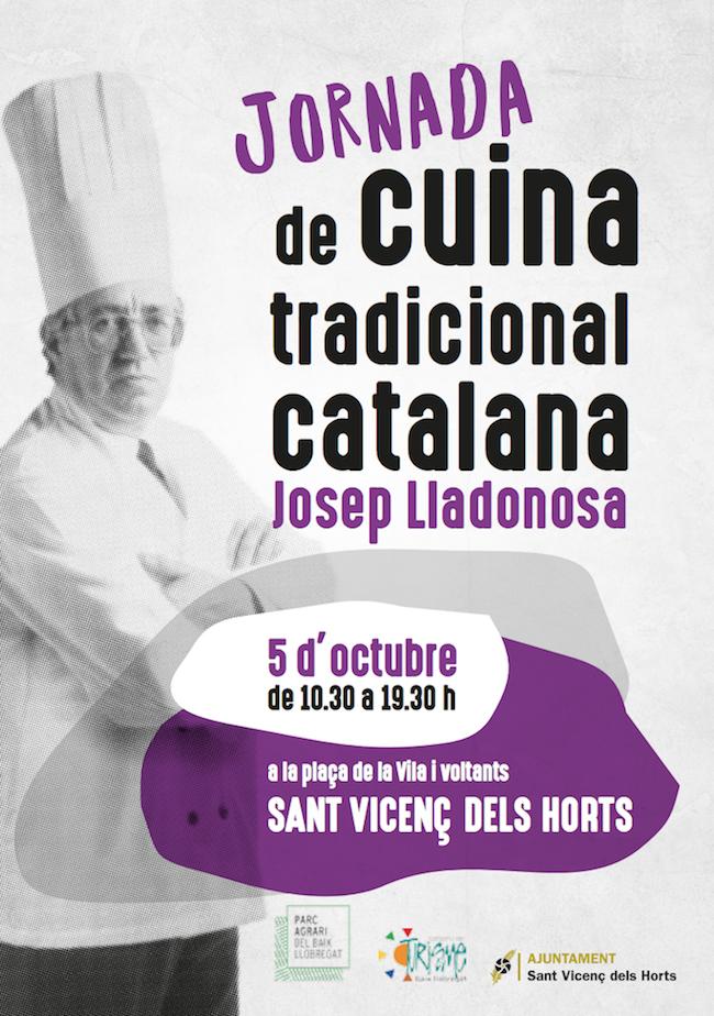 QUE FER AQUEST CAP DE SETMANA - JORNADA DE CUINA TRADICIONAL CATALANA JOSEP LLADONOSA