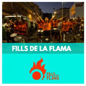 FILLS DE LA FLAMA - GRUPS DE PERCUSSIÓ