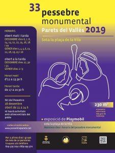 FESTES CATALUNYA - PESSEBRE MONUMENTAL PARETS DEL VALLÈS - QUE FER AQUEST CAP DE SETMANA
