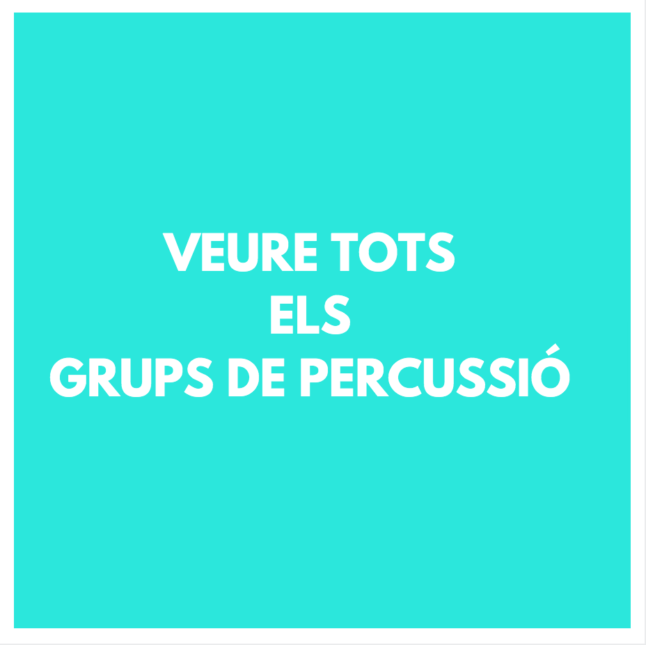 GRUPS DE PERCUSSIÓ - PERCUSSIÓ- BATUCADA