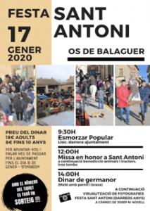 FESTES CATALUNYA - FESTA SANT ANTONI OS DE BALAGUER - FESTA MAJOR