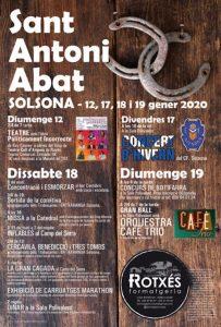 FESTES CATALUNYA - SANT ANTONI ABAT A SOLSONA - FESTA MAJOR