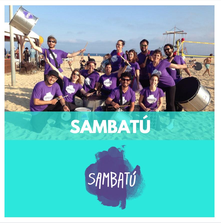 Batucada - Sambatú - Grups de Percussió