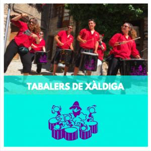 TABALERS DE XÀLDIGA - GRUPS DE PERCUSSIÓ