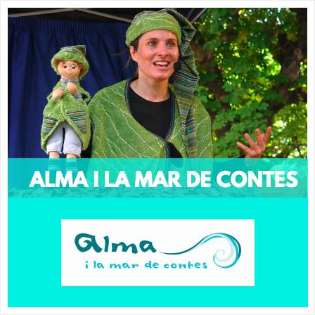 ALMA I LA MAR DE CONTES - CONTACONTES