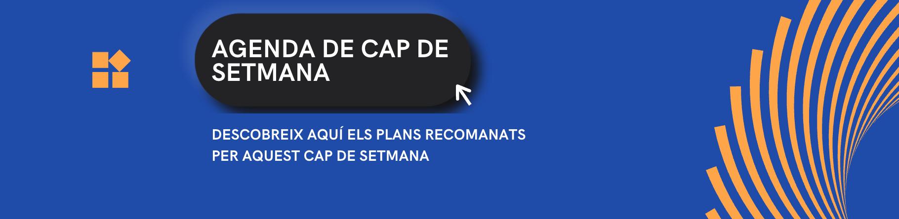 CAP DE SETMANA - AGENDA CAP DE SETMANA - que fer avui - festes catalunya