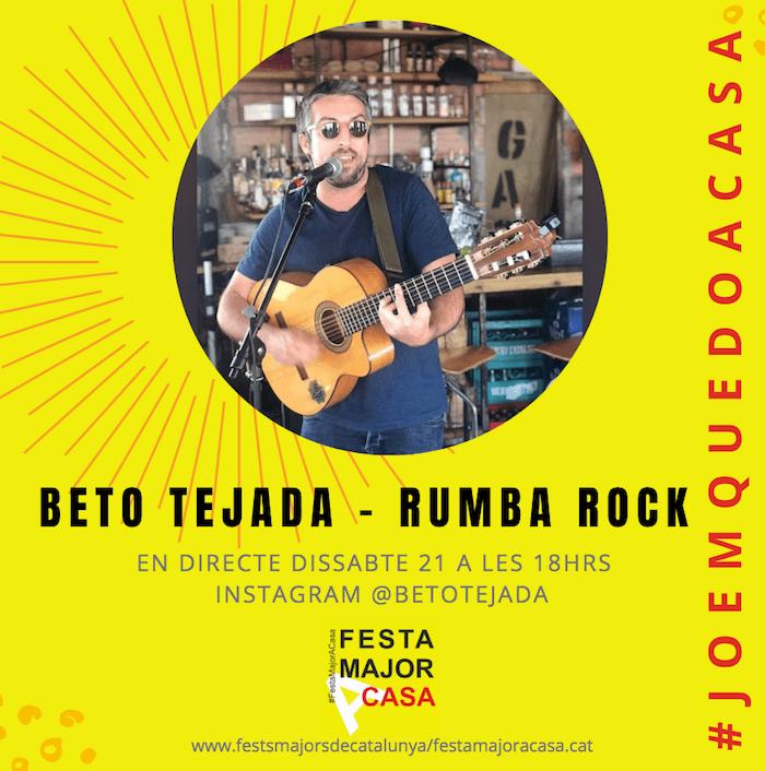 FESTA MAJOR A CASA - BETO TEJADA -RUMBA ROCK