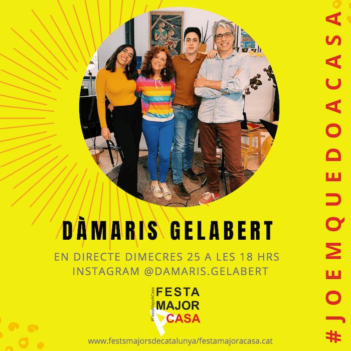 FESTA MAJOR A CASA - DAMARIS GELABERT (1)
