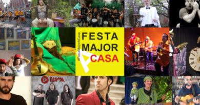 FESTA MAJOR A CASA - PLANS RECOMANATS DURANT LA QUARENTENA