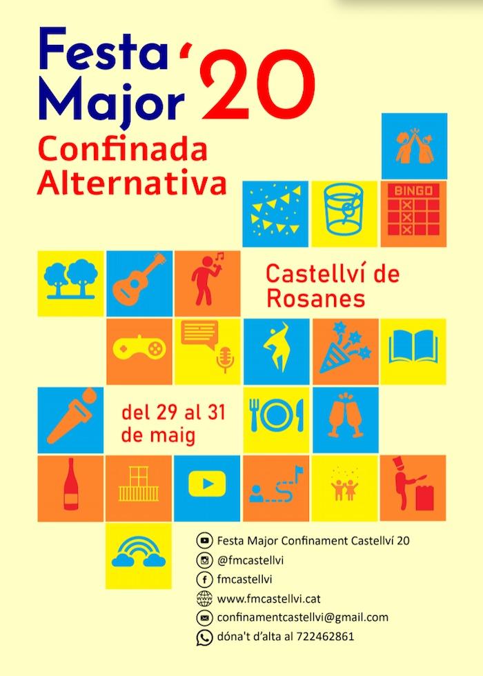 FESTA MAJOR - CASTELLVÍ - FESTA MAJOR A CASA