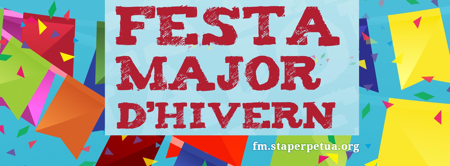 que fer aquest cap de setmana a Barcelona - Festa Major d'hivern Santa Perpetua