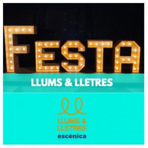 LLOGUER DECORACIÓ - LLUMS & LLETRES