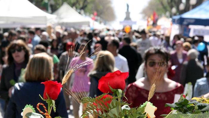 Sant Jordi 2020 - fires i festes