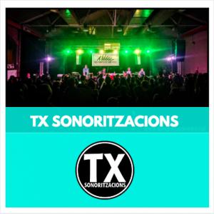 TX SONORITZACIONS - SO I LLUM