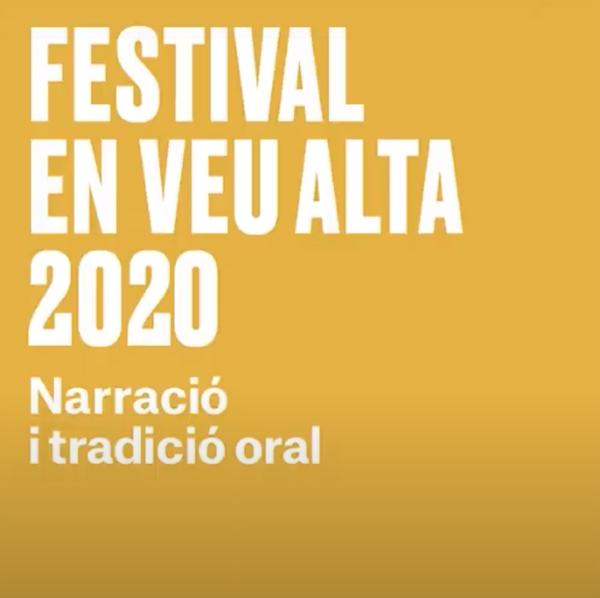 FESTIVAL EN VEU ALTA 2020- QUE FER AVUI