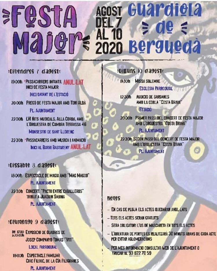 Que fer aquest cap de setmana - festa major -Guardiola de Berguedà -