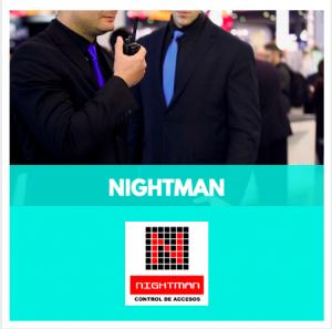 NIGHTMAN- CONTROLADORS D'ACCESSOS