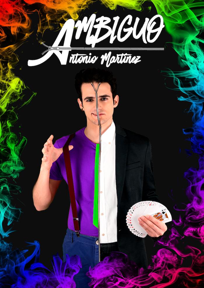 Antonio Martínez mag - AMbiguo - Espectacles de Màgia