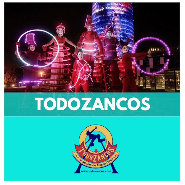 TEATRE DE CARRER - TODO ZANCOS - ESPECTACLES XANQUES