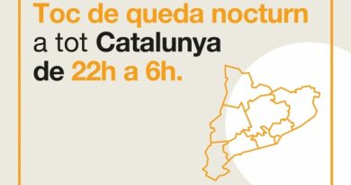 Toc de Queda - Toc de queda Catalunya - Confinament nocturn