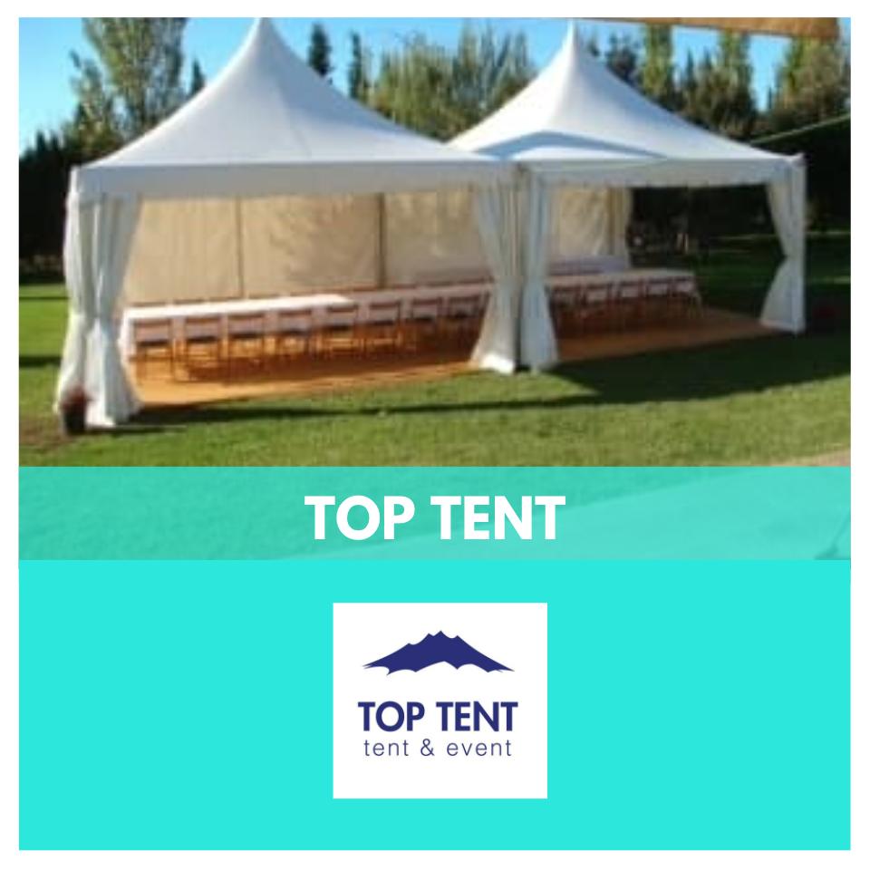top tent - lloguer de carpes
