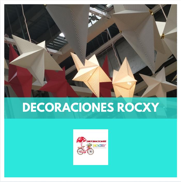 DECORACIÓ GLOBUS ESDEVENIMENTS - DECORACIONES ROCXY