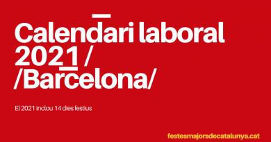 CALENDARI BARCELONA 2021