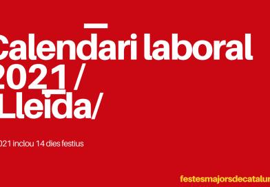 CALENDARI LLEIDA 2021