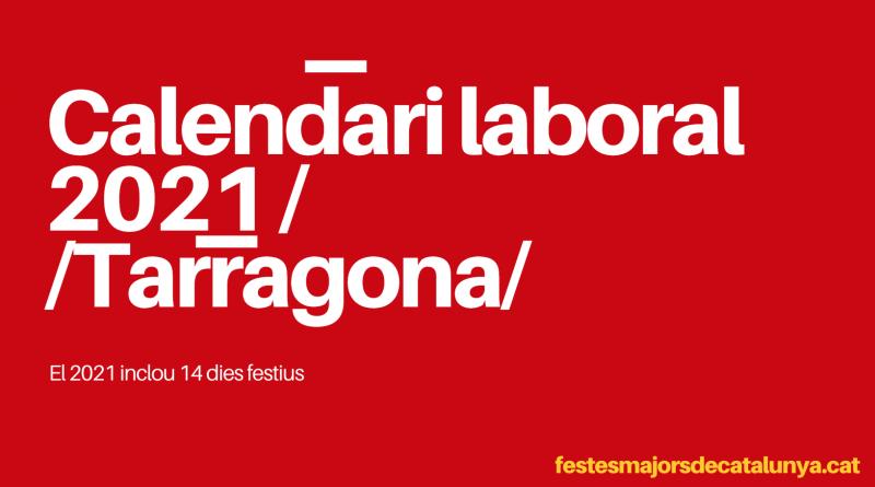 CALENDARI TARRAGONA 2021