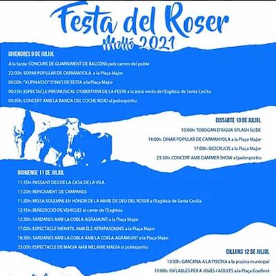 Que fer aquest cap de setmana -Festa Major - Festa del Roser a Molló